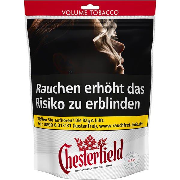 Chesterfield Red Volume Tobacco 170g Tabakvertrieb 24 Alles Rund