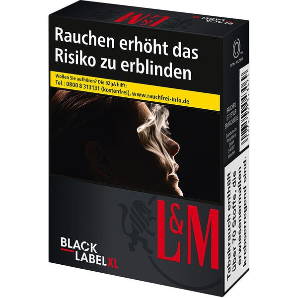 l m black label xl tabakvertrieb 24 alles rund um tabak. Black Bedroom Furniture Sets. Home Design Ideas