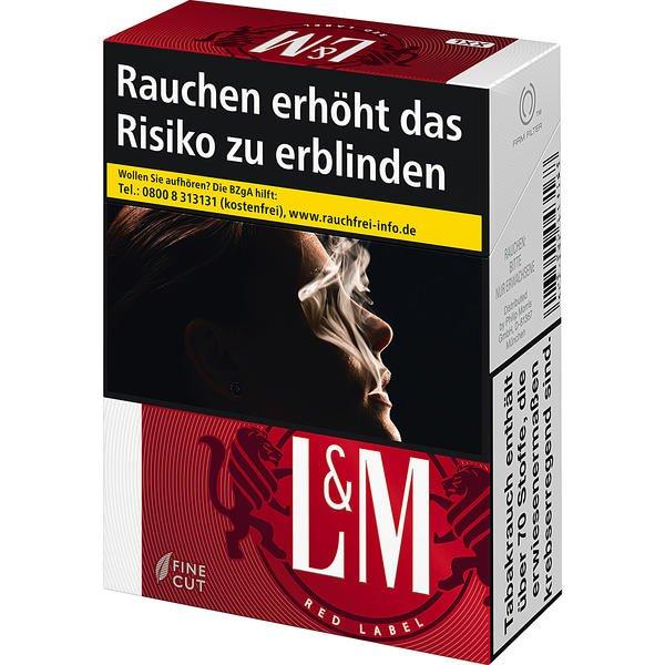 l m red label xl tabakvertrieb 24 alles rund um tabak. Black Bedroom Furniture Sets. Home Design Ideas