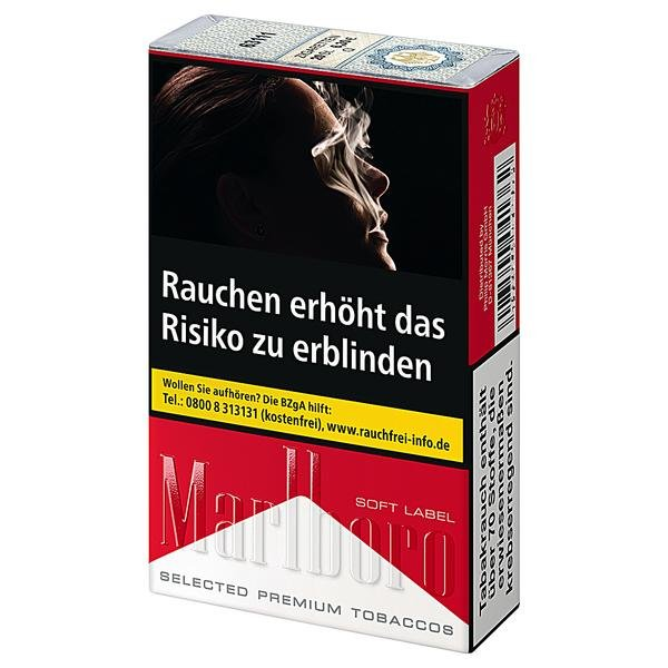 marlboro red soft label tabakvertrieb 24 alles rund um. Black Bedroom Furniture Sets. Home Design Ideas