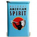 Natural American Spirit TIN Metallbox Blau