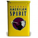 Natural American Spirit TIN Metallbox Gelb