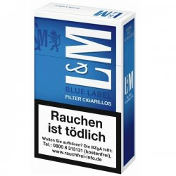 L&M Filter Cigarillos Blue Label