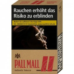 Pall Mall Red Authentic
