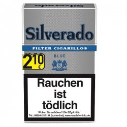 Silverado Blue Filter Cigarillos