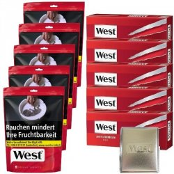 West Red Volume Tobacco Spar Set 3