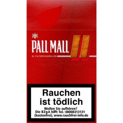 Pall Mall Red XL Filter Cigarillos
