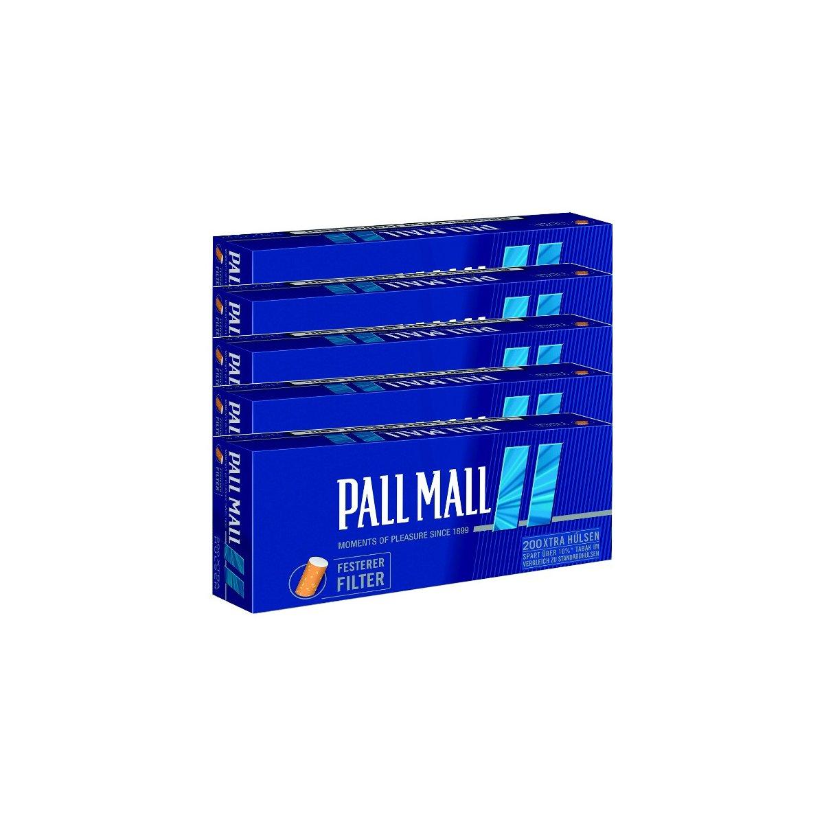 10 Pack Pall Mall Allround Xtra Filterhülsen Zubehörartikel