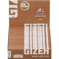 GIZEH PURE Extra Fine King Size Slim
