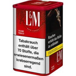 L&M Volume Tobacco Red XL 115g