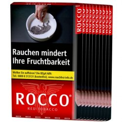 Rocco Red Tabacco 38g 10er Pack