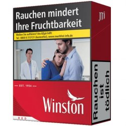 Winston Red Big Pack 4XL