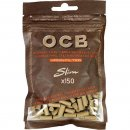 OCB Unbleached Virgin Slim Filter 6mm