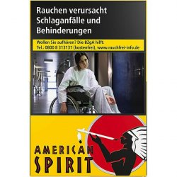American Spirit Yellow Big Pack