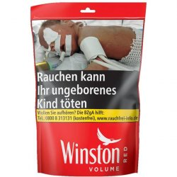 Winston Volume Tobacco Red XXL 135g