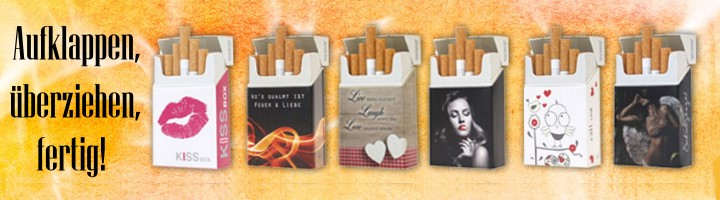 Zigarettenbox Cover