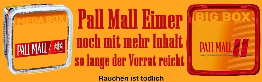 Pall Mall Eimer alte Gramm-Eimer